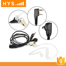Clear sound audio tube air tube kit vhf two way radio headset