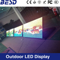Popular size led sign 8ftX4ft / 6ftX4ft / 4ftX4ft wireless remote control programmable full color