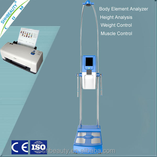 Print report Human body elements analysis machine/Body composition fat analysis machine/Height health body evaluation machine