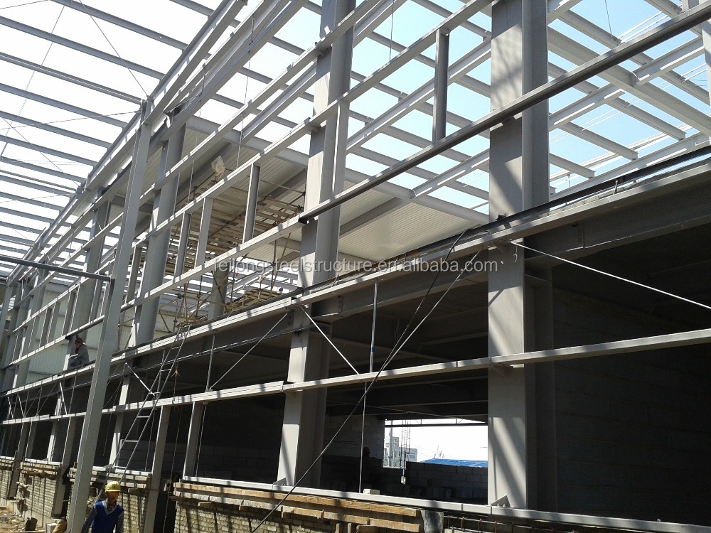 prefab factory building and steel structure hall