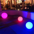 plastic wireless outdoor colorful waterproof led floating ball lighting