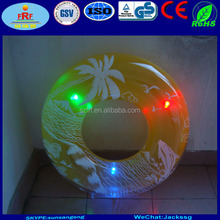 PVC inflatable Led Light Swimming Ring