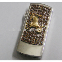 cristal business promotion gift usb flash drive Twelve Chinese Zodiac Signs shape