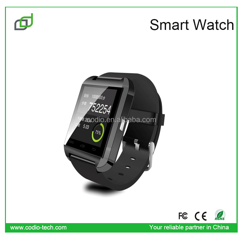 latest wrist for iphone 6 plus mobile phone 2015 u8 smart watch