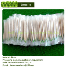 Wholesale Individually wrapped Mint wooden toothpicks