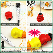 2016 Plastic Finger hand pen Fist Pen/Gesture Bounce Pen/Unique Big Boxing Pen