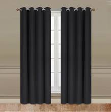 1pc SOLID Blackout with Grommets Window Curtain Beautiful Design