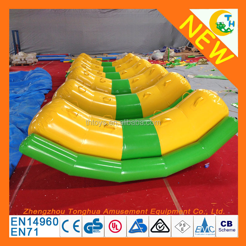 Factory price customize water giant inflatable banana pool float