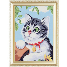 Yiwu Gold Supplier Modern Lucky Cat Decorative Pattern Mosaic Diamond Painting With Size 40*50