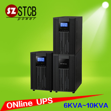 Ture double conversion online ups 6kva with battery price