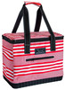 2014 new design mini can cooler bag with woven handle / custom fitness cooler lunch bag