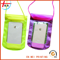 Floating PVC Eco Material Waterproof Sports Phone Bag/Cheap Phone Case
