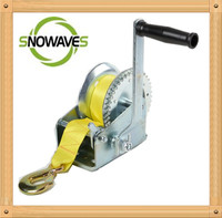 1 ton Steel mechanical winch // Hand winch // logging winch for sale