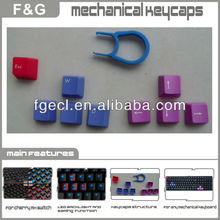 Alibaba Top10 Supplier Custom PBT double injection Cherry PBT Keycaps
