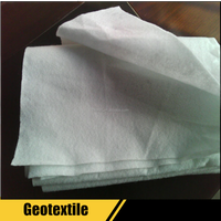 spunbond geotextile fabric rolls price per m2 for road