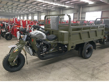 5 Wheel Super Power Boosting Cargo Loader Motorcycle / 200cc Gasoline Engine Motorbike With Wagon