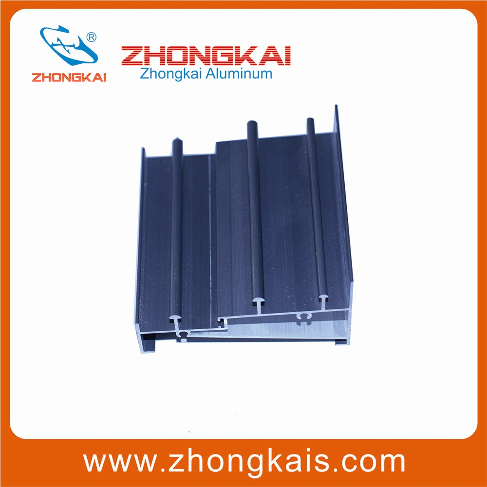 Top Track and Bottom Track sliding door aluminum profile extrusion