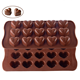 New design funny heart shaped silicone chocolate/cake mold