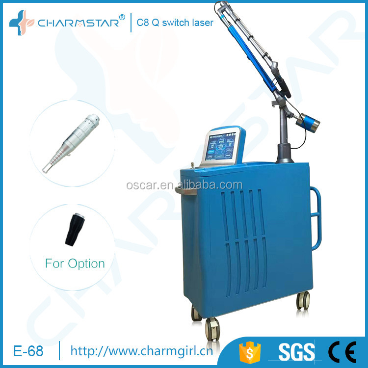 Factory Medical Machine Removing Deep Pigment Machine With Q Switch ND Yag Active Laser