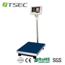60 to 80kg black color Good Quality Electronic Price Platform Scale
