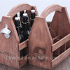 Stain Color Handraft Wood Beer Tote