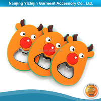 3D soft pvc cartoon magnet for fridge