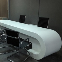 kkr 2 person marble top office desk in china