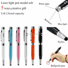 Universal multifunction pen drive 8g 16 gb 32 gb 64 gb Usb disk USB 2.0 stylus pen drive pendrive Memory Stick 5 in 1