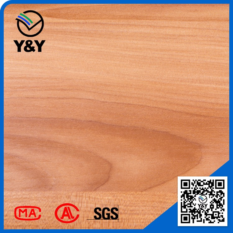 decorative wood/stone grain pvc film for wall furniture