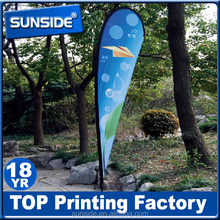 Personalised outdoor feather flag banners with aluminum frame
