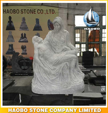 Haobo Stone Hand Carved The Pity / La Pieta Statue
