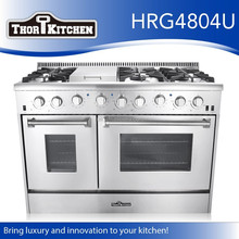 6-burner Commercial Gas Cooker With Storage Cabinet