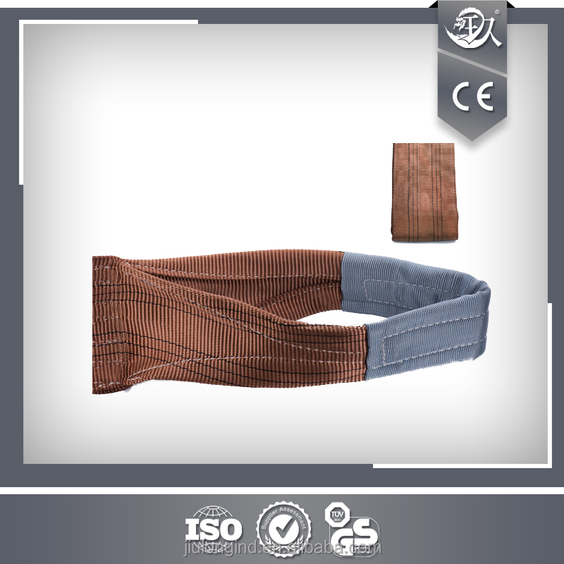 Flat 5 Tons 150MM Polyester Webbing Sling/Lifting Belt