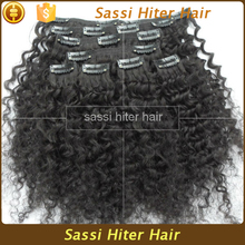 Amazing High Quality Clip In Curly Hair Extension For Black Women