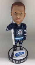 Customized Polyresin Hockey Player Bobble Head Figurine