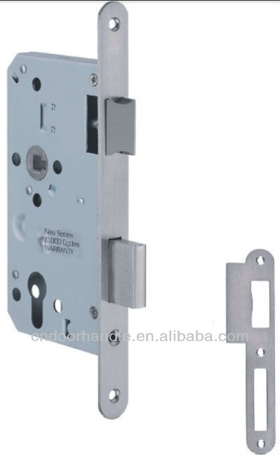 High Security Standard Mortise Lock Body, Door Lock Without Handle