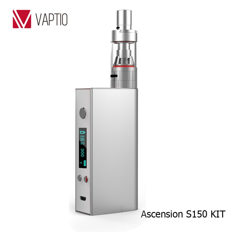 Newest e cigs VAPTIO 150W ATC high power e-cigarette vapor kits