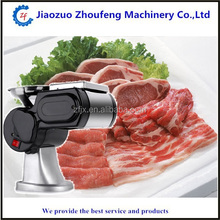 7mm 2mm 5mm 2.5mm thickness Electric mini meat slicer /steak cutting machine/beefsteak slicer(whatsapp:008613782875705)