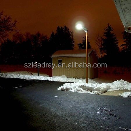 12v solar led solar light all in one 30w high power solar led street light