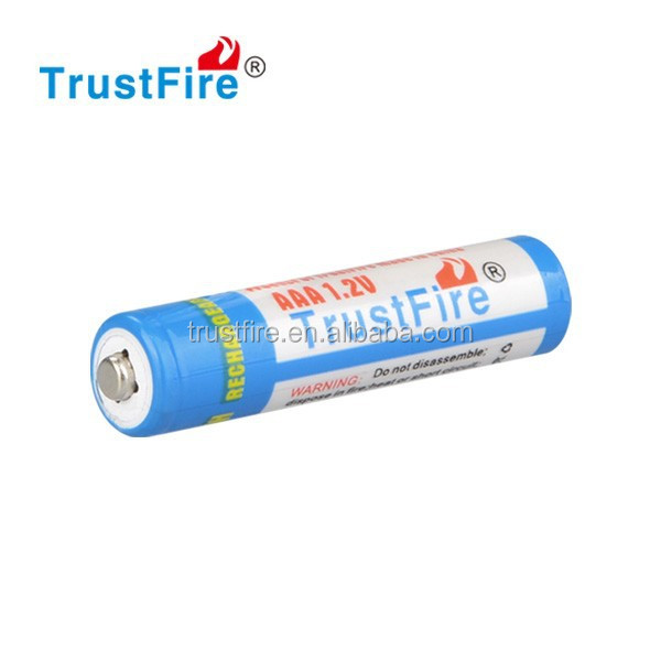 Hot Sale Batteries 1.2V 900mAh AAA quality,TrustFire NIMH aaa rechargeable batteries