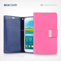 for samsung galaxy note 3 n9000 pouch wallet case,goospery rich diary