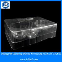 Disposable Vacuum Forming Plastic Tray With Divided