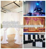 portable wedding backdrop