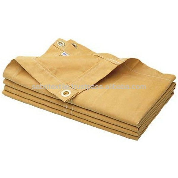 Cotton Tarp, Canvas Tarpaulin
