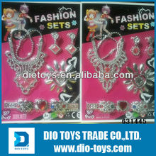 girl's jewelry toy set with fashion make up set for sale