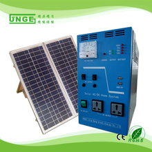 Mini Solar power generation system 100WP solar panel 12V/55AH-300W home solar electricity generation system