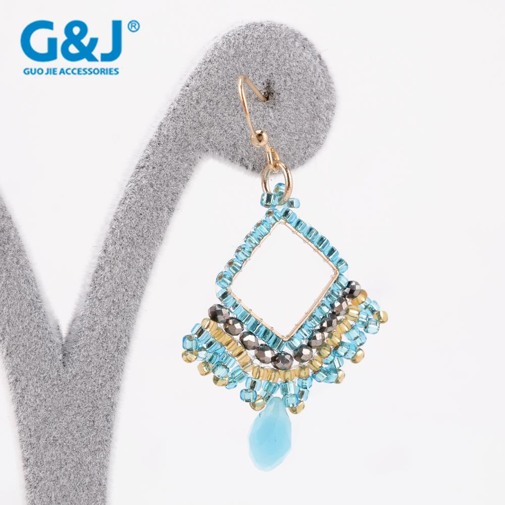 guojie brand wholesale factory 2017 new model designs fashion earrings for women