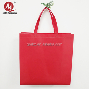 Easy carry cheap recycle foldable laminated non woven bag for shopping