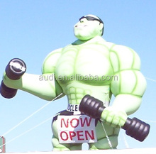 green Muscleman Inflatable