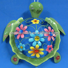 metal garden decoration tortoise ornaments beautiful hanging crafts yard wholesale outdoor decor